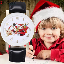 New Christmas Pattern Women Casual Watch Ladies Leather Luxury Watches Woman Quartz Wristwatch Female Clock Hours Black Gift #D exquisite ultra thin women casual watches simple stylish ladies leisure wristwatch slim band female elegant watch hours gift
