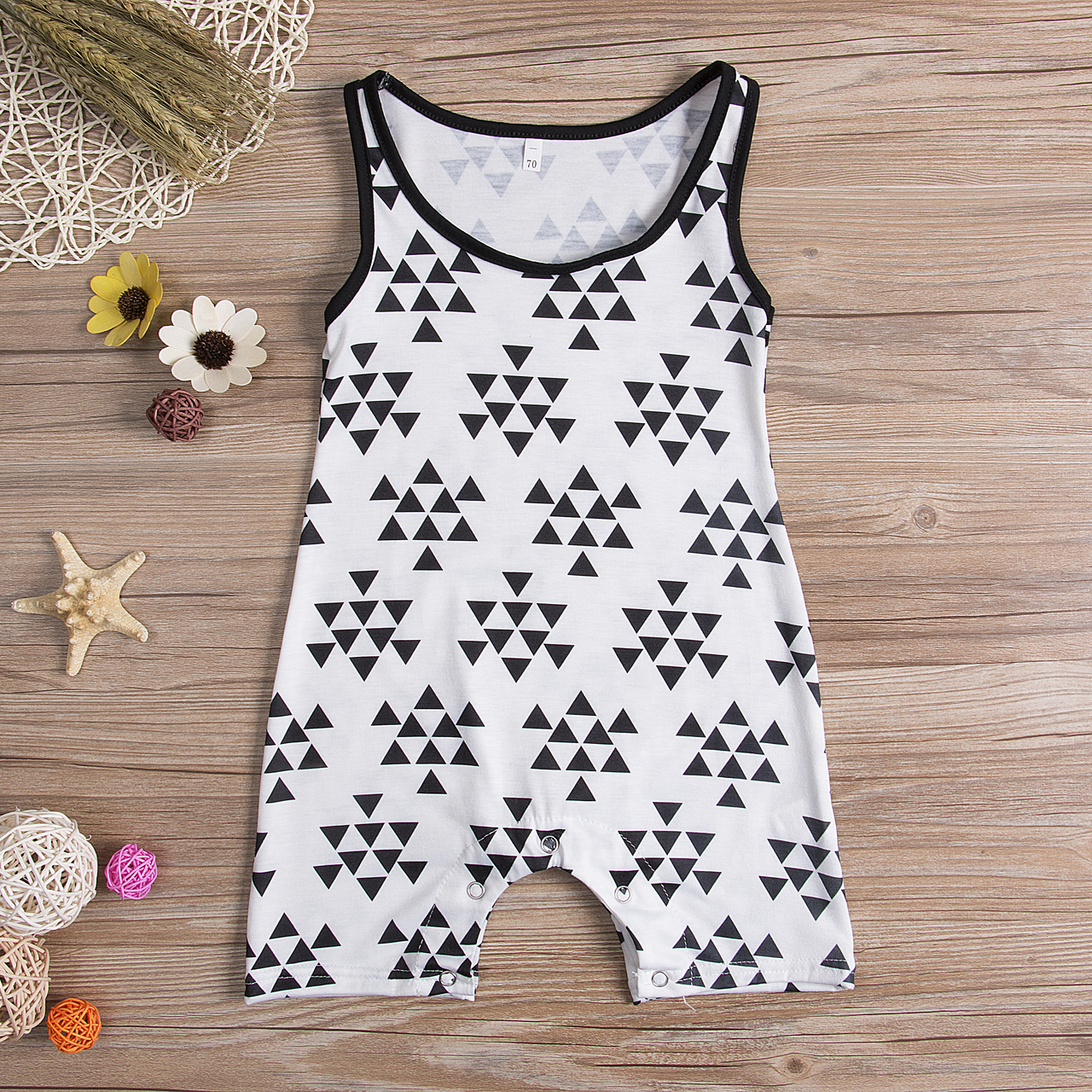 New Infant Baby Boy Romper Geo Sleeveless Kids Boy Romper Jumpsuit Outfits Sunsuit Summer baby Clothes new arrival boy costumes rompers cotton newborn infant baby boys romper jumpsuit sunsuit clothes outfits