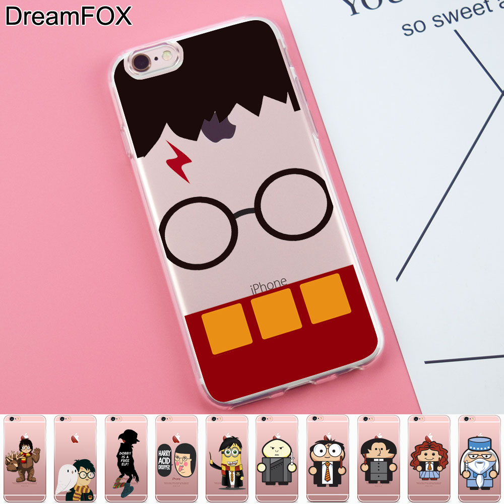 L290 Harry Porter Soft TPU Silicone Case Cover For Apple iPhone X 8 7 6 6S Plus 5 5S SE  ...