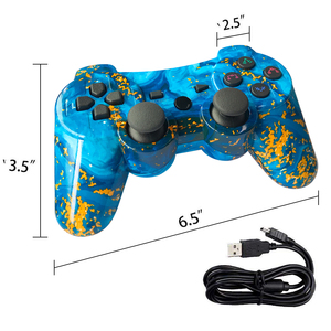 Image 3 - Bluetooth For Sony Playstation 3/ps2/pc Controller Wireless Gamepad Joystick For Playstation3 SIXAXIS Gamepads 12colour