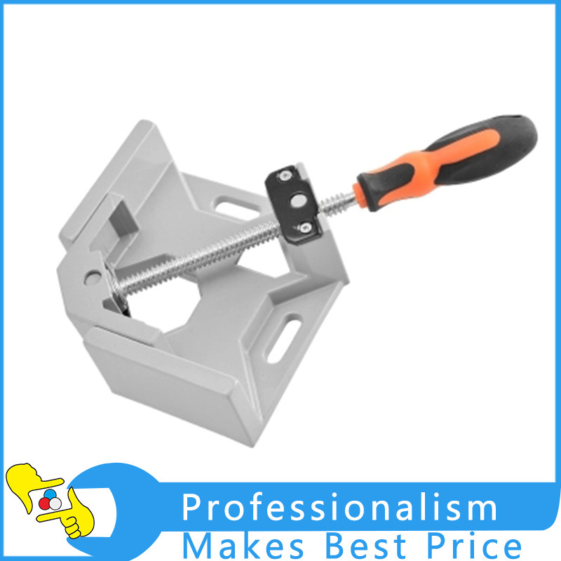 Axis 90 Degree Corner Right Angle Clamp Vise rame Folder Fast Angle Folder For Woodworking Single Handle ninth world new single handlealuminum 90 degree right angle clamp angle clamp woodworking frame clip right angle folder tool