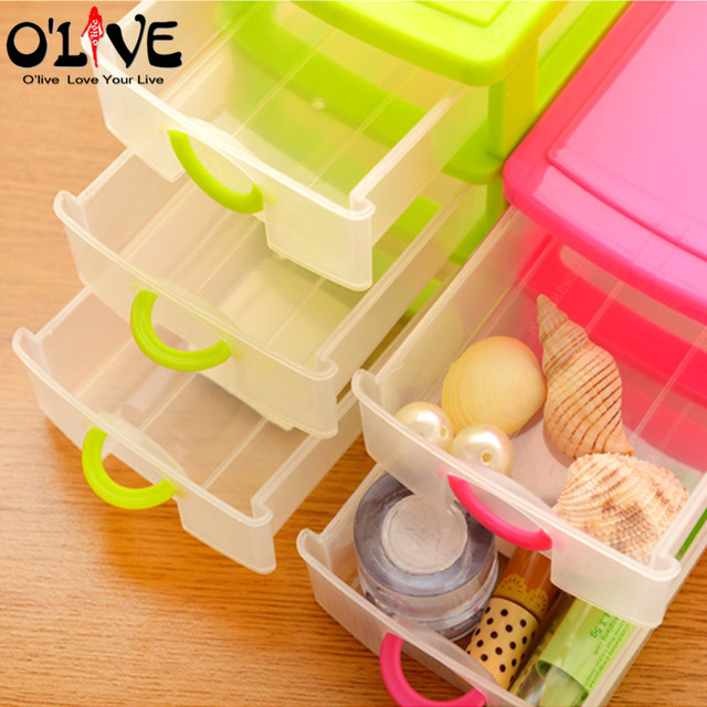3 Layer Drawer Organizer Desk Plastic Storage Boxes Translucent Invisible Office Storage Containers Jewelry Case Home  sc 1 st  AliExpress.com & 3 Layer Drawer Organizer Desk Plastic Storage Boxes Translucent ...
