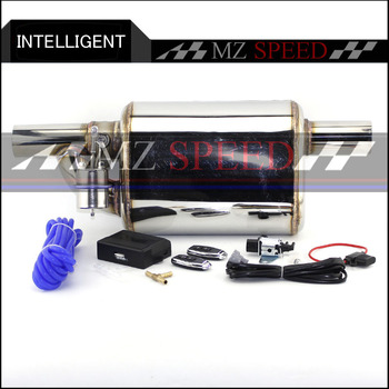 Car Exhaust System Stainless Steel  Electric Exhaust CutOut Valve With Electronic Remote Control Switch Muffler exhaust pipe