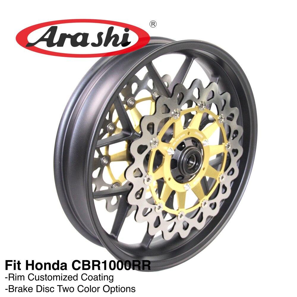 Arashi CBR1000RR 2008-2017 Front Wheel Rim Anteriore Dischi Freno Del Rotore Per HONDA CBR1000 CBR 1000 RR 2008 2009 2010 2016 2017