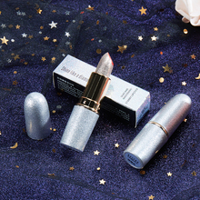 3 Colors Glitter Lipstick Diamond Bling Waterproof Long Lasting Shimmer Lipsticks Nude lip Makeup Profesional maquiagem