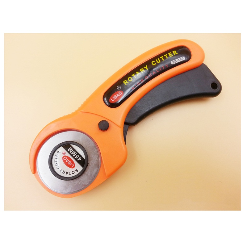 45mm Rotary Cutter Premium Quilters Sewing Stainless Steel ... : fabric cutting machines for quilting - Adamdwight.com