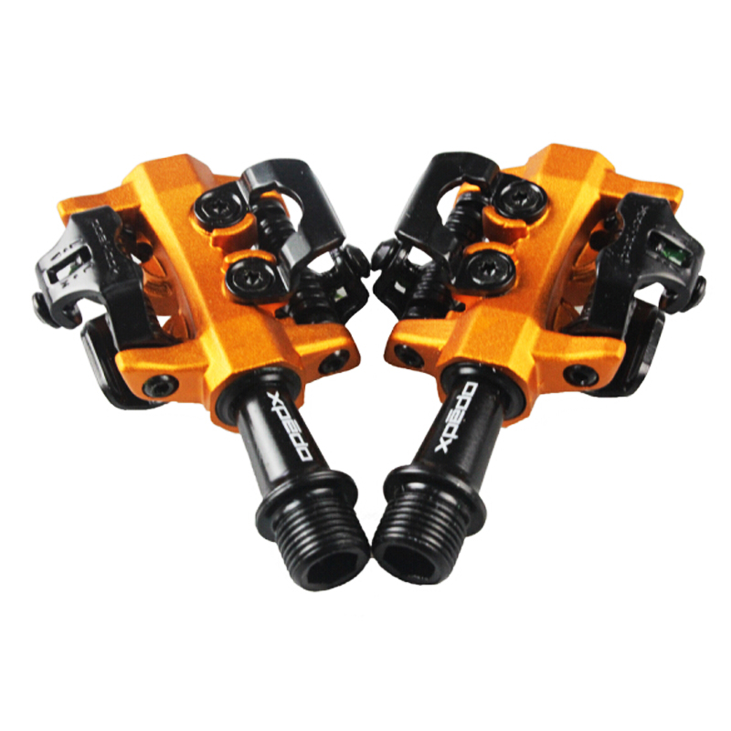 MTB high quality pedal fully enclosed 3 bearing professional racing mountain bike lock pedal ultra light