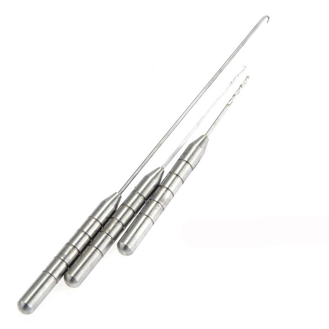 Hot Nice Sale High Quality Durable Coarse Fishing Carp Rigging Needle Set Kit Metal Tackle Tool