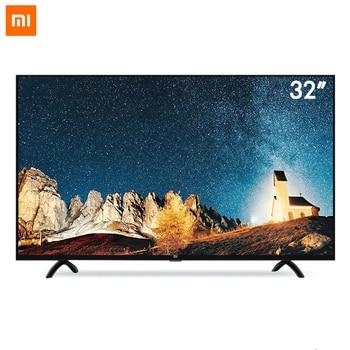 2017 Xiaomi Smart TV Set 4A 32 inch 1366x768 Television 64-bit quad-core Artificial Intelligence HDMI WIFI 1GB+4GB game display เมาส์