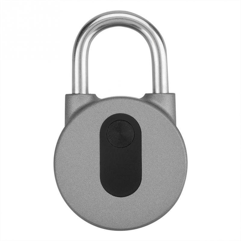 Wireless Padlock Keyless Anti-theft Smart Lock Mobile Phone Bluetooth APP Used For Doors Backpacks Bikes Storage Lockers