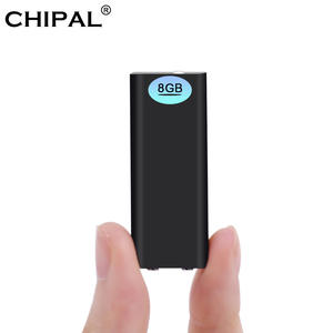 CHIPAL Global Smallest 8 GB + MP3 Player Flash Drive 3 in 1 Recorder