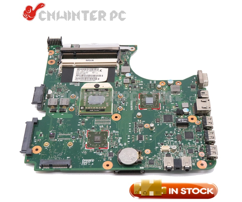 NOKOTION 538391-001 For HP compaq 515 615 CQ515 CQ615 Laptop Motherboard Socket S1 DDR2 Free CPU la 5971p for lenovo g455 laptop motherboard hd 4250m ddr2 free cpu