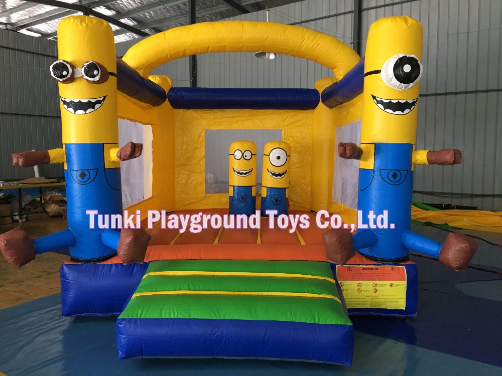 mini inflatable minions bouncy house