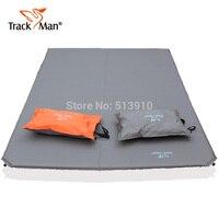 הרחבת עיבוי לחות כרית שינה כרית מתנפחת אוטומטית כפולה trackman לזוג נסיעות מזרן