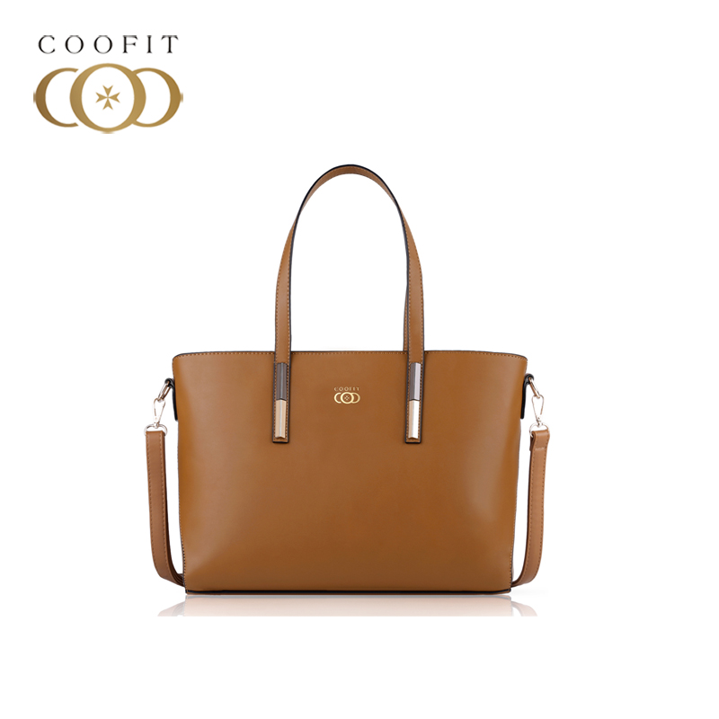 coofit Vintage Women's Handbag Casual PU Leather Crossbody Shoulder Bag Tote Bag Polyester Lining With Cell Phone Yellow Bolsas butterfly pu leather pouch bag for cell phone gadgets orange