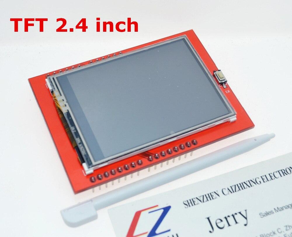 LCD module TFT 2.4 pouce TFT LCD écran pour Arduino UNO R3 Conseil et soutien mega 2560 avec gif Tactile stylo