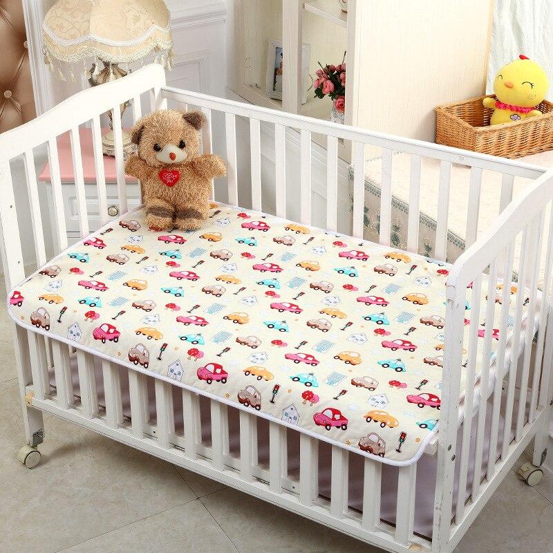78*120 Baby Changing Mat Infants Portable Foldable Washable Waterproof Mattress Children Game Floor Mats Cushion Reusable Diaper