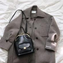 New Vintage pu Leather Shell Women Shoulder Bag Luxury Brand