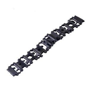 Image 5 - 스테인레스밴드 For Samsung Galaxy Watch 46mm Gear s3 22mm 팔찌에 스테인레스시계줄  금속 시계 계밴드 Garmin Fenix 3 hr 5x 시계 밴드 철강 스크루 드라이버 도구 밴드