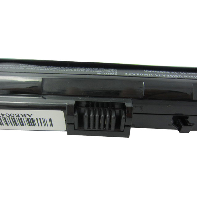 BLACK 5200mAh battery For Acer Aspire One A110 A150 D210 D150 D250 ZG5 UM08A31 UM08A32 UM08A51 UM08A52 UM08A71 UM08A72 UM08A73