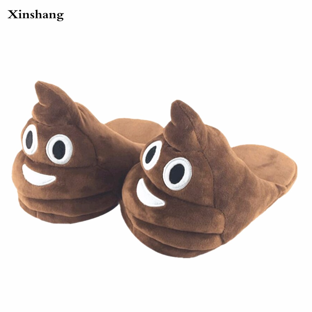 plush winter slippers indoor animal emoji furry house home with fur flip flops women fluffy rihanna slides fenty shoes soft plush big feet pattern winter slippers