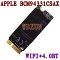 Broadcom bcm94331csax bcm94331csdax bcm4331 bluetooth módulo de cartão sem fio wi-fi 802.11 n para apple laptop a1398