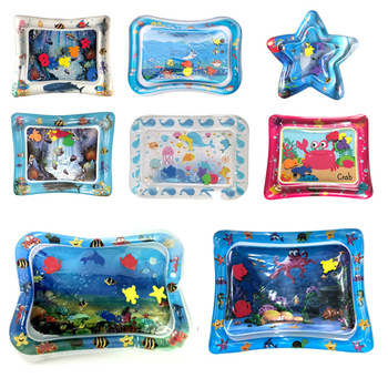 Baby Inflatable Patted Pad Water Play Mat Pad Cushion Baby Fun Activity Play Center Training Swimming Pool Accessories For Baby