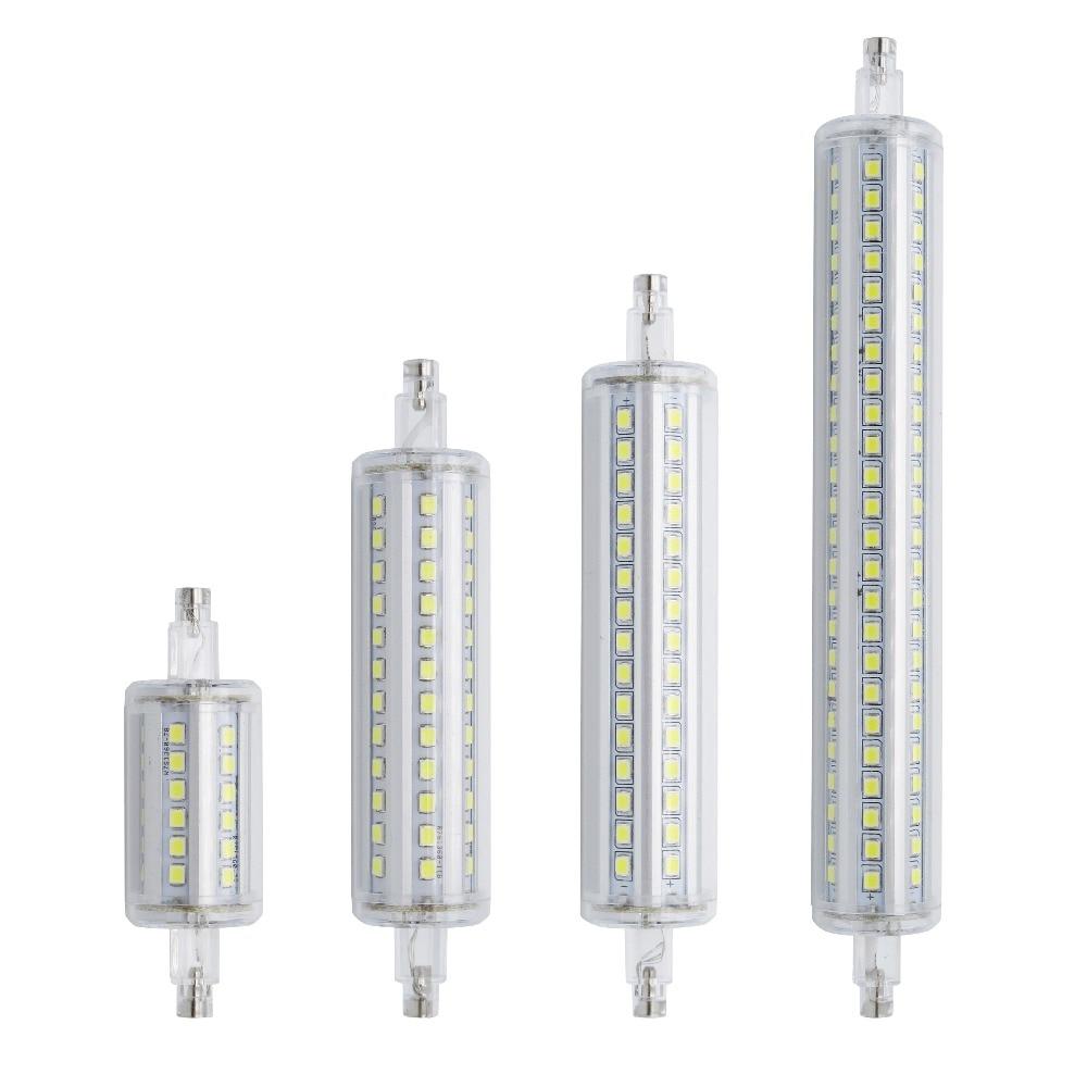Светодиодная лампа Lamparas R7S с регулируемой яркостью, 78 мм, 118 мм, 135 мм, 189 мм, лампа 2835 SMD, 7 Вт, 14 Вт, 20 Вт, 25 Вт, сменная галогенная лампа bombilas|led lamp bulb|lamp wineled nail curing lamp | АлиЭкспресс