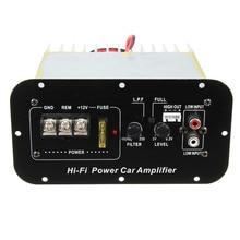 150 W 12 V De Voiture Salut-fi Basse Puissance Amplificateur Puissant 6-12 pouce Subwoofers Numérique AMP