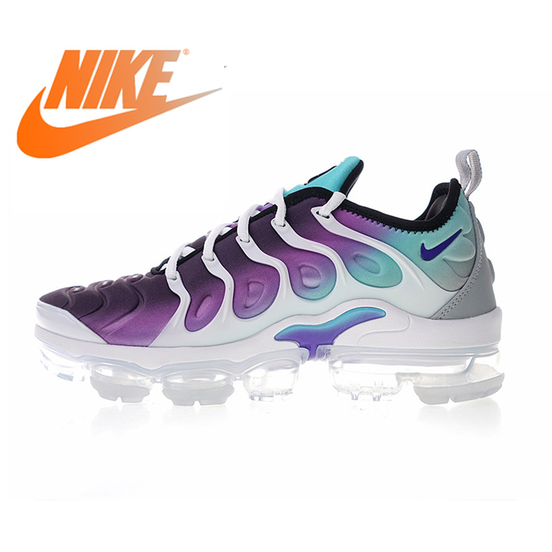 more photos a831f 6511d Original authentique Nike Air Vapormax Plus raisin TM femmes chaussures de  course baskets femme dames concepteur de Sports de plein Air 924453 dans ...