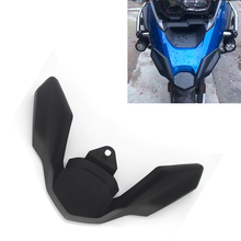New For BMW R1250GS/ADV R 1250 GS LC R1200GS Adventure 2018-19 Motorcycle Front Beak Fairing Extension Wheel Cover Cowl Black
