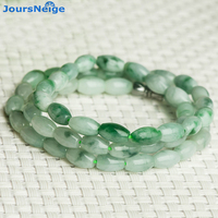 Wholesale JoursNeige Natural Stone Necklace Ice Rice Beads Sweater Chain Necklace Lucky For Women Girl Gift