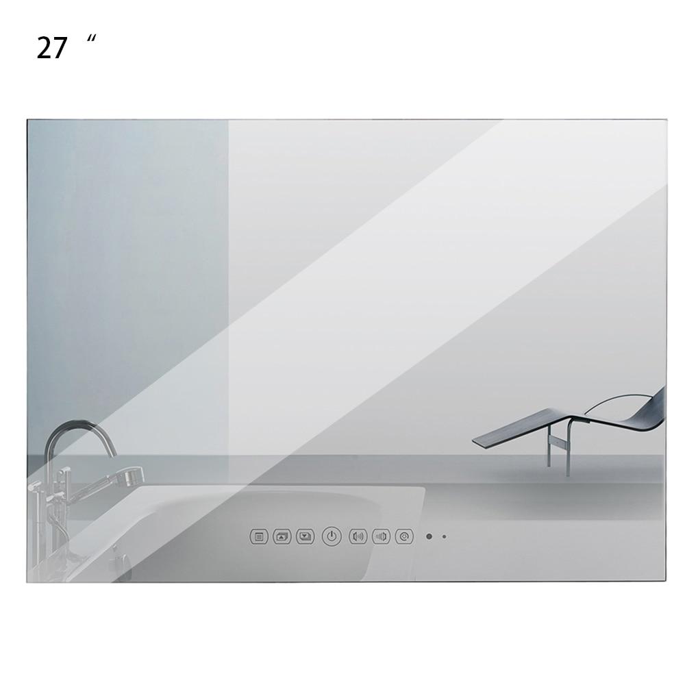 Souria 27 Inch Full HD 1080P IP66 Multimedia Hidden  TV Vanishing Bathroom Magic Mirror /Waterproof LED Flat Screen TV