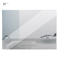 Souria 27 inch Full HD 1080P IP66 Multimedia Hidden TV Vanishing Bathroom Magic Mirror /Waterproof LED Flat Screen TV