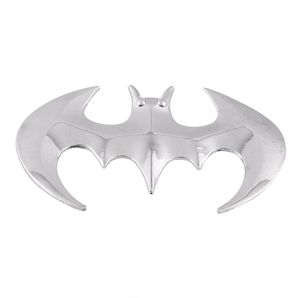 Fashion 3D Bat Auto Car Stickers Decoration Emblem Badge Decal Logo Decor Exterior Accessories