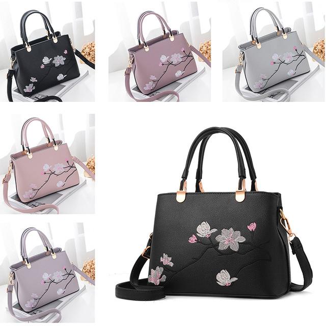 Nevenka Women Bag Zipper Handbag Flower Quality Bags National Style Tote Ladies Evening Bag Female Colorful Messenger Bags Sac