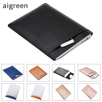 Hot Leather Sleeve Case For MacBook Air 11 AIR 13 Retina 12 13 3 15 4