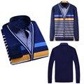 Novo 2016 Outono Inverno Vestido de Algodão Camisas de Alta Qualidade Casual Mens Camisa Slim Fit Engrosse Camisas