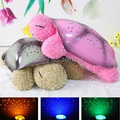 2 Colors Musical Turtle Night Light Stars Constellation Lamp Without Box,1pc/lot