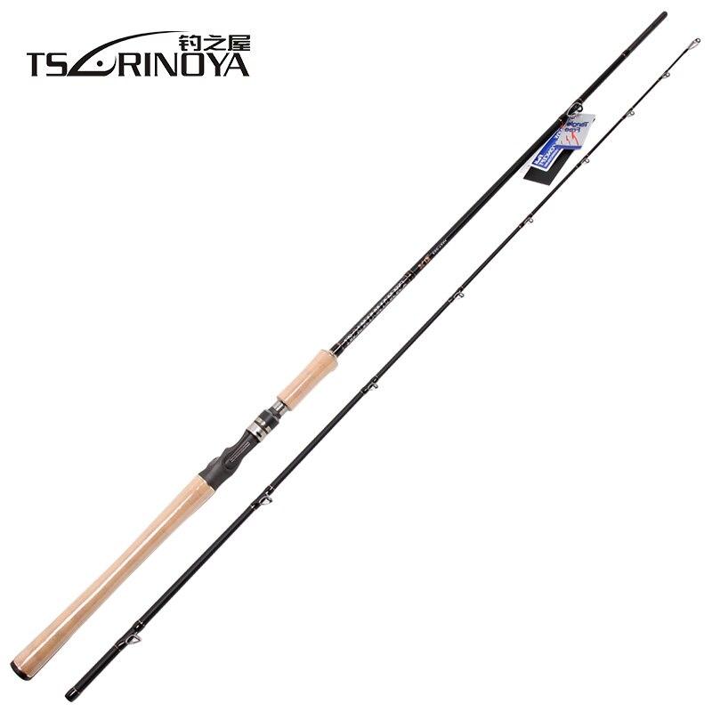 TSURINOYA 2 19m XH Bait Casting Fishing Rod 10 40g 2 5 Cork Hand FUJI Accessories
