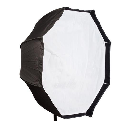Prix pour 120 cm/47.2in Portable Octagon Softbox Parapluie Brolly Réflecteur pour Flash Speedlight Lumière Photo Studio Accessoires