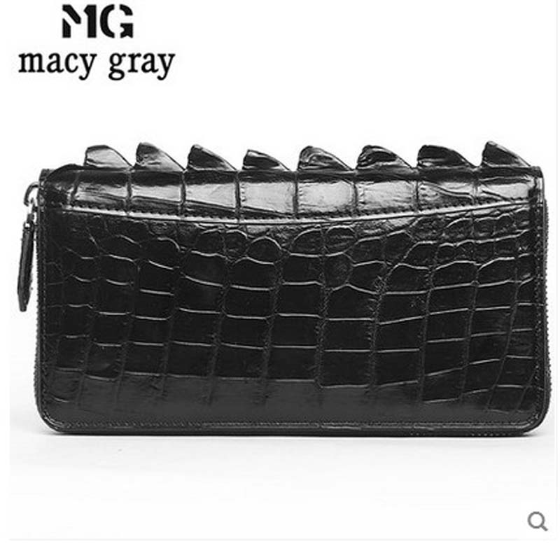 meixigelei 2017 new crocodile men bag business men days clutch bag crocodile leather bag without stitching belly man bag