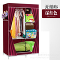 More simple wardrobe steel non-woven fabric reinforced assembly and folding bag mail