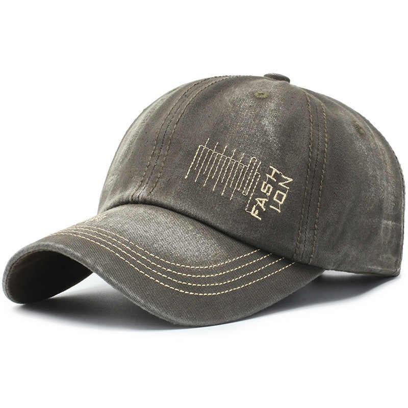 2019 recién llegados gorra de béisbol de alta calidad gorra de béisbol Demin gorra de Jean bordado para hombres mujeres gorra Gorras hueso camionero tapa