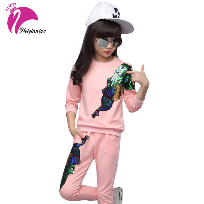 New Arrival Spring Girl Children Clothing Set Embroidered Baby Kids Cartoon Long Sleeve T Shirt Pants Suit Sport Suit free shipping children s clothing spring autumn girl leisure flower pattern girl suit long sleeve sweatshirt pants set