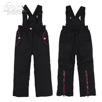 SP SHOW Winter Children Loose Boy And Girl Trousers and zipper solid cotton Trousers 62507