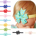 11*6.5cm Fashion Newborn Baby Kids Girl Infant Toddler Headband Bowknot Dots Hair Band Accessories