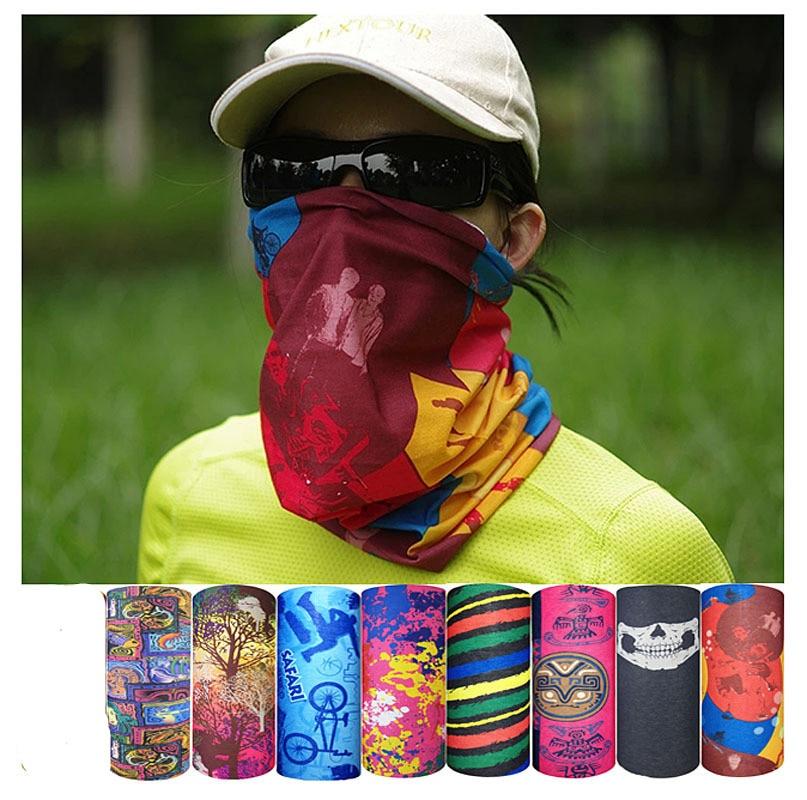 Tube Scarf Bandana Face Mask Neck Scarf Wristband Headband Wrap Art Printed Hot