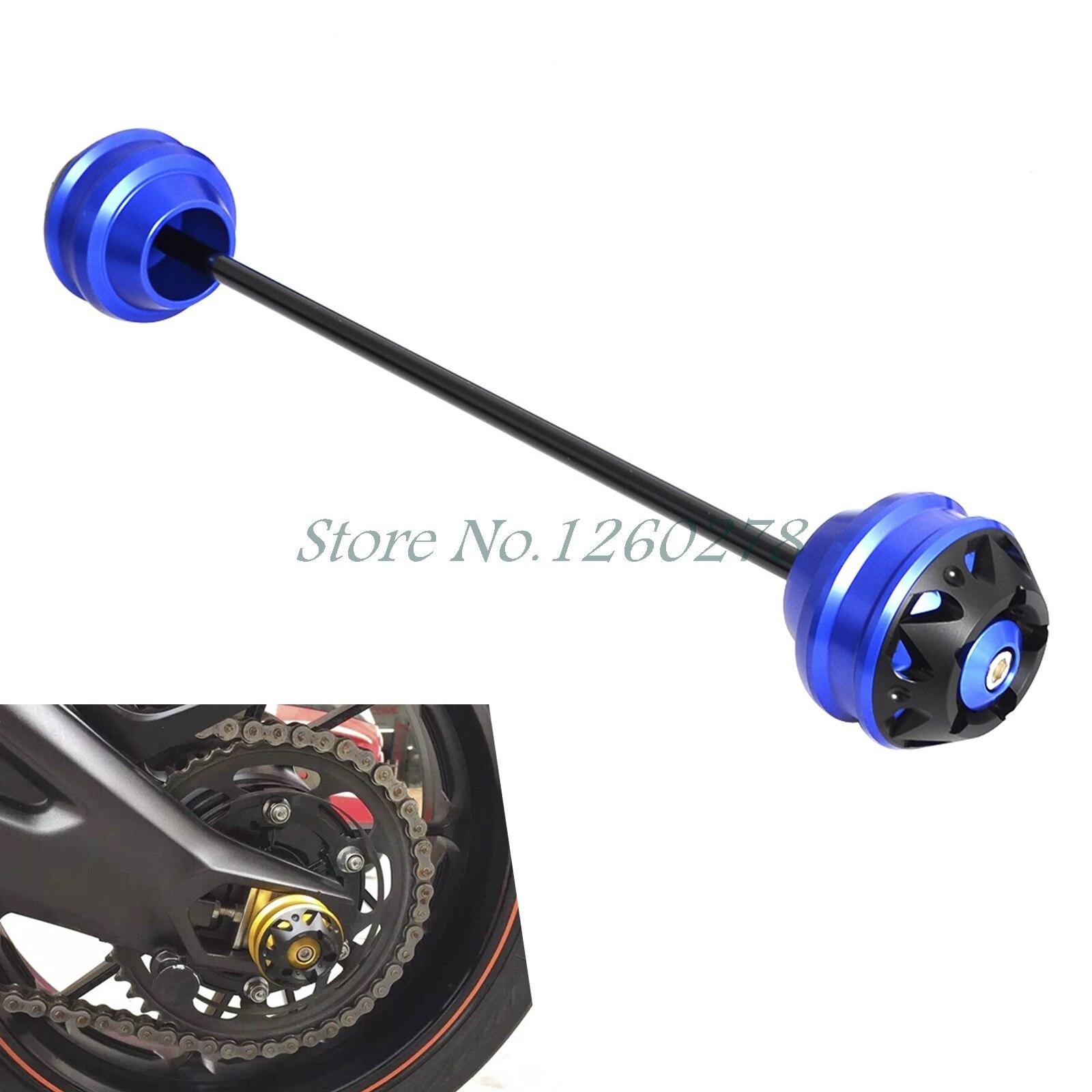 Front Axle Fork Crash Sliders Wheel Falling Protection Guard For BMW K1200 K1300 GT/R/S K1600 GT/GTL