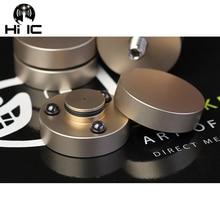 4 шт., Hi Fi аудио колонки, усилитель, керамические бусины, Стальные Бусины, Противоударная амортизирующая подставка для ног, основа для ног, вибропоглощающая подставка